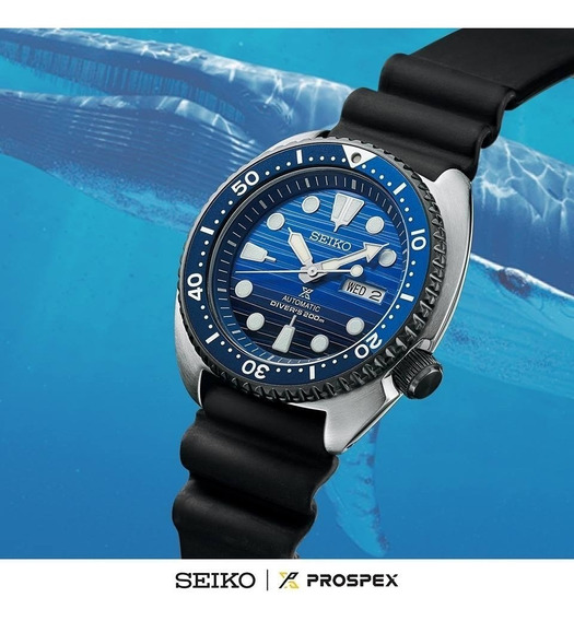 Seiko Prospex Save The Ocean Novo Automatic O