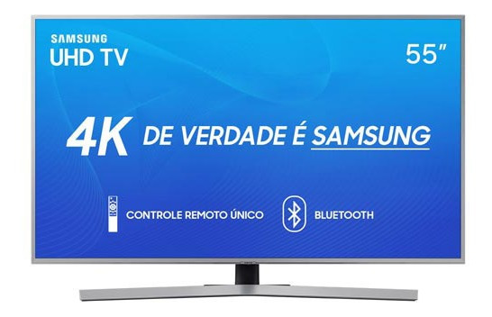 Smart Tv 4k Samsung Led Uhd 55 - Un55ru7450gxzd