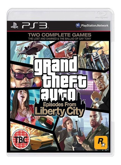 Grand Theft Auto - Gta Episodes From Liberty City - Ps3