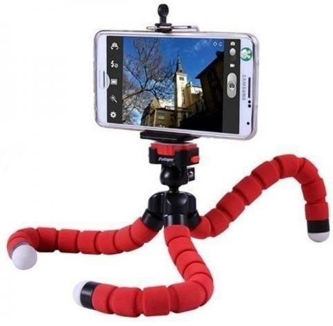 Tripé Para Câmera Celular Smarhone Gopro