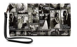 Collage De Portada De Revista Brillante Michelle Obma M...