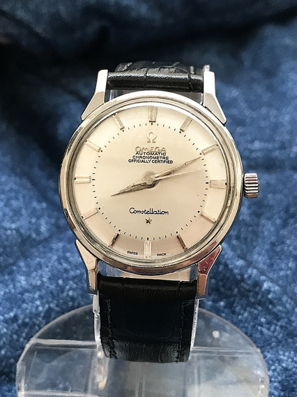 Relogio Omega Constellation Pie Pan - 14 Anos No M. Livre