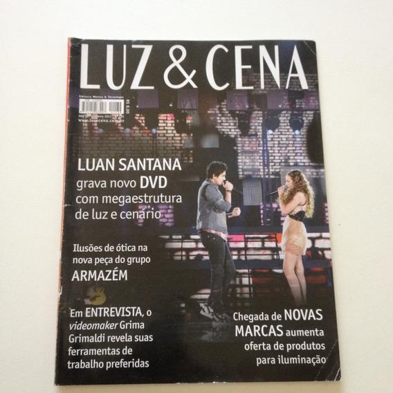 Revista Luz E Cena Luan Santana C897