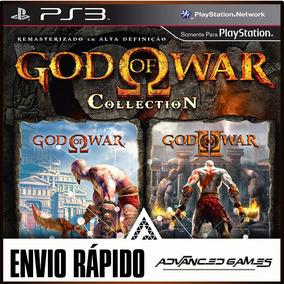 God Of War Collection Hd - Gow 1 & 2 - Jogos Ps3 Psn