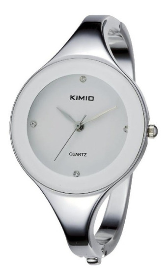 Relógio Feminino Bracelete Kimio - Branco