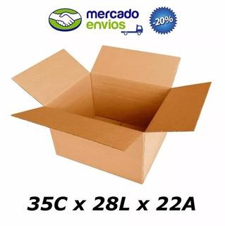 25 Caixas De Papelão 35 X 28 X 22cm Tipo 4 Correio Sedex Pac