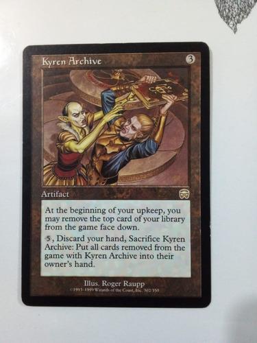 Kyren Archive Artifact - Carta Magic #302 - U
