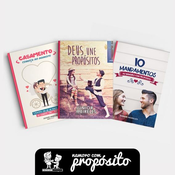 3 Livros Namoro Com Propósito - Livros Ncp
