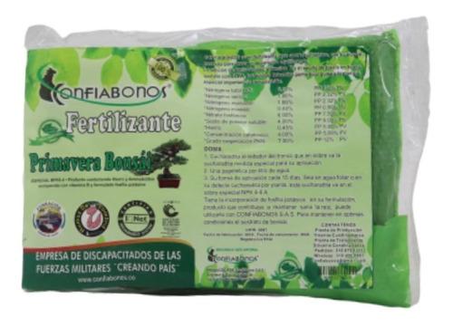 Fertilizante Confiabonos Primavera Bonsai (100% Orgánico)