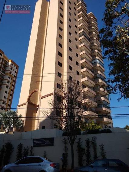 Apartamento Com 3 Dormitórios Para Alugar, 87 M² Por R$ 1.700/mês - Edif. Genova - Valinhos/sp - Ap0335