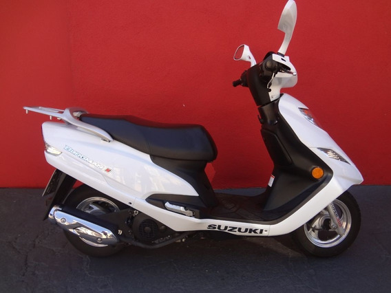Suzuki Burgman I 2019 Branca