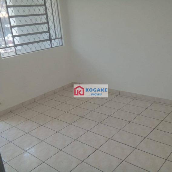 Casa Com 2 Dormitórios Para Alugar, 50 M² Por R$ 1.000/mês - Jardim Bela Vista - São José Dos Campos/sp - Ca2599