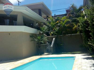 Casa Com 4 Dormitórios Para Alugar, 230 M² Por R$ 4.000 - Recreio Maristela - Atibaia/sp - Ca5481