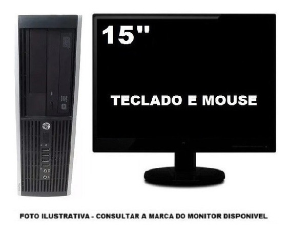 Computador Hp 6305 3.2ghz Quad Core 8gb 120gb Ssd