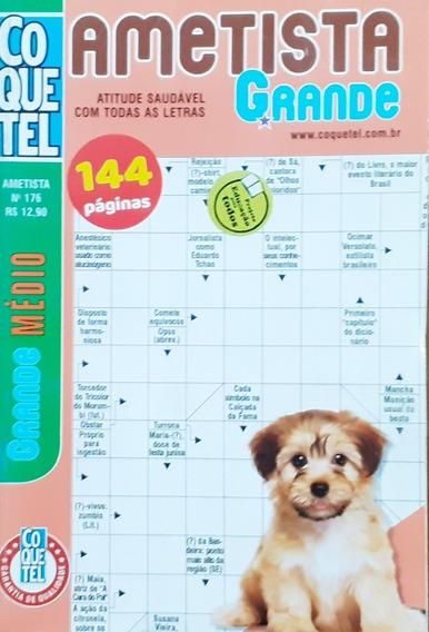 Kit Palavras Cruzadas Nível Médio/ Coquetel/ 12 Volumes.
