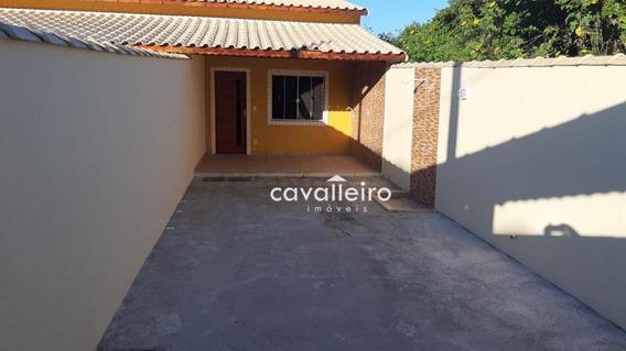 Casa Com 2 Dormitórios À Venda, 71 M² Por R$ 255.000,00 - Cordeirinho - Maricá/rj - Ca4121