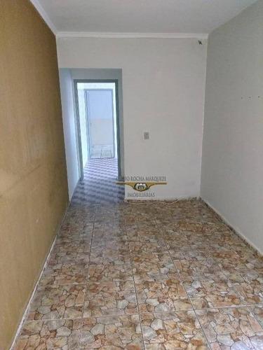 Imagem 1 de 13 de Casa Com 2 Dormitórios Para Alugar, 158 M² Por R$ 1.450,00/mês - Vila Antonieta - São Paulo/sp - Ca0443