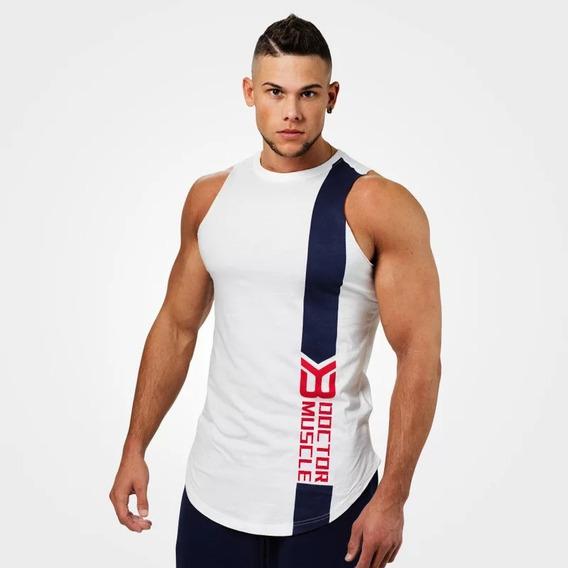 Doctor Muscle Tank Camiseta Entrenamiento Gym Fitness Gratis