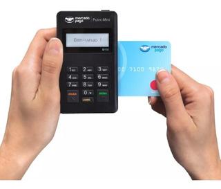Maquininha Cartões Crédito Débito Point Mini - Sem Aluguel