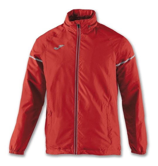 Campera Rompeviento Impermeable Hombre Joma Race Capucha