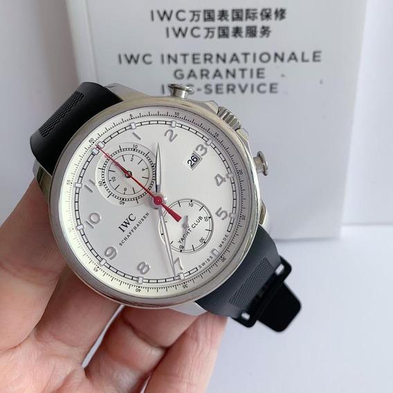 Iwc Portuguese Yacht Club Chronograph Completo Impecável