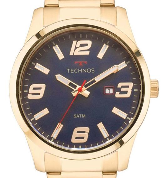 Relógio Technos Dourado Perfomance 2115mpi/4a Original + Nf