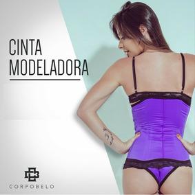 ddb861d98 Cinta Modeladora - Cintas - Liga Azul violeta no Mercado Livre Brasil