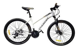 Bicicleta Dama Phoenix Caro Mtb Acero R26 - Albanes
