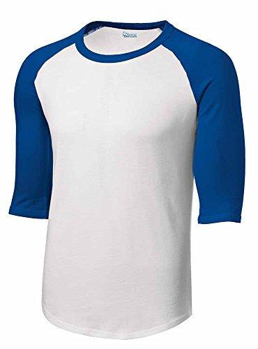 Imagen 1 de 1 de Hombres O Juventud 3/4 Manga 100% Algodón Béisbol Camiseta J
