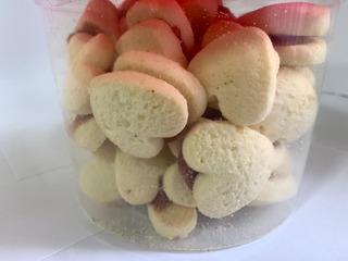 Bolachas Biscoitos Amanteigado Leite Ninho Coração 400 Gr