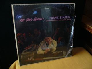 Frank Sinatra No One Cares Lp Vinilo Usa!
