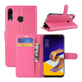 Capa Carteira Asus Zenfone 5 5z 2018 Rosa