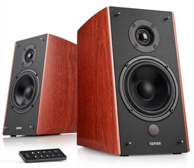 Monitor De Áudio Edifier Estúdio R2000db Madeira
