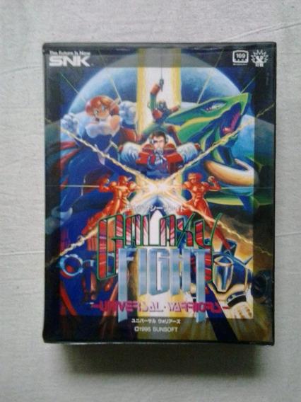 Galaxy Fight Cartucho Jogo Neo Geo Aes Galaxy Fight