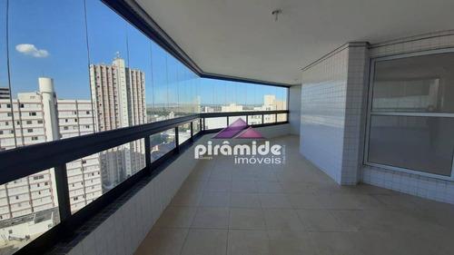 Cobertura Com 4 Dormitórios, 315 M² - Venda Por R$ 1.800.000,00 Ou Aluguel Por R$ 5.000,00/mês - Vila Adyana - São José Dos Campos/sp - Co0100