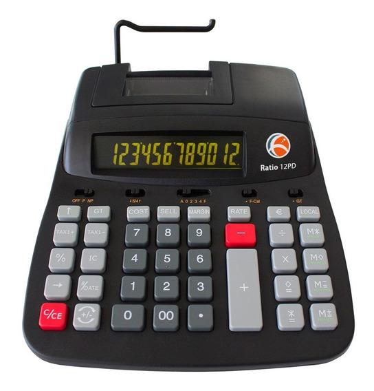 Calculadora Olivetti Ratio 12pd-térmica -12 Dígitos