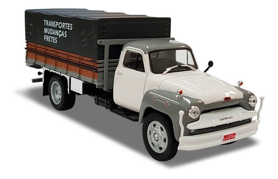 Miniatura Chevrolet Brasil 6500 Transporte E Mudanças Salvat