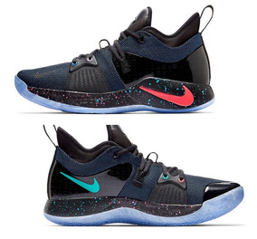 Tenis Nike Pg 2 Playstation Colorway Ps4 Ed. Ltd. Basquetbol
