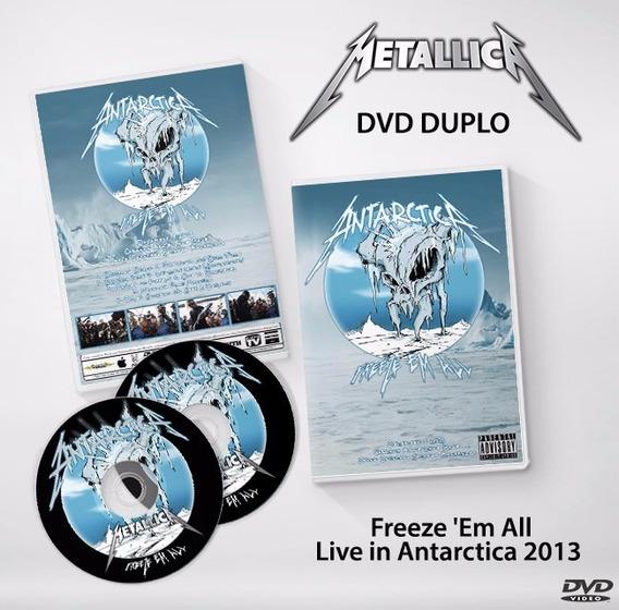 Metallica - Freeze Em All Dvd Duplo