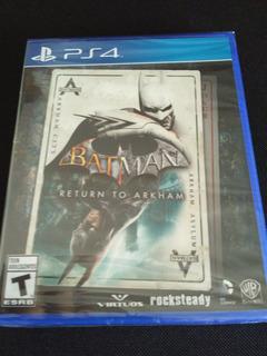 Batman Return To Arkham Ps4 Nuevo Sellado Envio Gratis