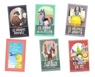 Cuentos Infantiles Paquete 8 Libros Clasicos Niños Mayoreo