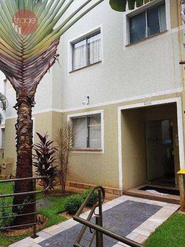 Apartamento Com 2 Dormitórios, 50 M² - Venda Por R$ 180.000,00 Ou Aluguel Por R$ 1.000,00/mês - Subsetor Leste - 8 (l-8) - Ribeirão Preto/sp - Ap6719