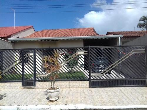 Casa Em Balneário Três Marias, Peruíbe/sp De 140m² 3 Quartos À Venda Por R$ 420.000,00 - Ca978836