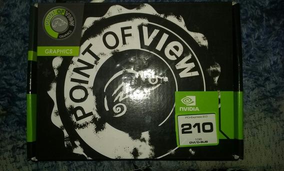 Placa De Video Nvidia 210 1g Dvo/d-sub