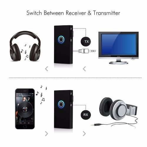 Transmissor & Receptor Audio P2 Bluetooth V3.0 3.5mm Estéreo