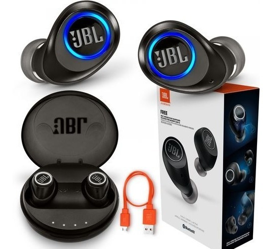 Fone Jbl Free Bluetooth Sem Fio- Frete Grátis