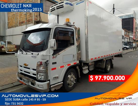 Furgon Chevrolet Nkr 2015 Thermonking