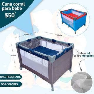 Cuna Corral Para Bebé Niño Excelente Precio Nueva De Paquete
