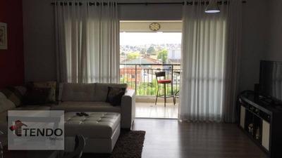 Apartamento 96 M² - 3 Dormitórios - 1 Suíte - Independência - São Bernardo Do Campo/sp - Ap0773