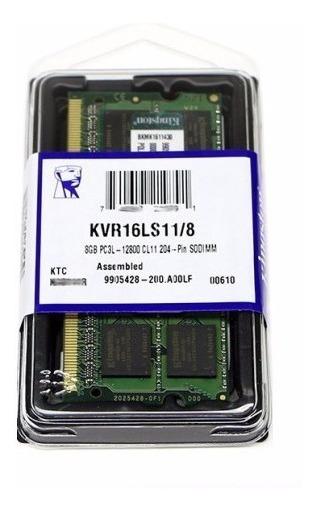 Memoria 8 Gb Ddr3 Notebook Pc3l Pc12800 1,35 Volts M83l